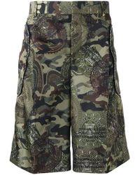 Givenchy - Men's Green Bermuda Shorts - Lyst