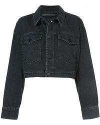 Alexander Wang - Cropped Oversize Jacket - Lyst