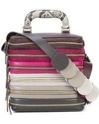 Anya Hindmarch | Six Zip Stack Top Handle Bag | Lyst