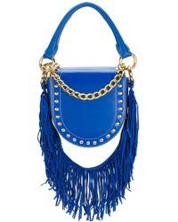 Sacai - Studded Fringed Strap Shoulder Bag - Lyst