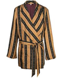 Gucci Chain Printed Dressing-gown Jacket - Multicolor
