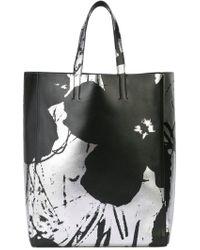 CALVIN KLEIN 205W39NYC Printed Tote Bag - Black