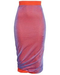 Atlein Pencil Knitted Dress - Pink
