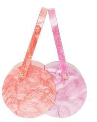 Edie Parker Double Shot Handbag - Pink