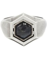 M. Cohen - Hexagon Spinning Ring - Lyst
