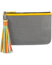 Pierre Hardy - Chequered Print Clutch - Lyst
