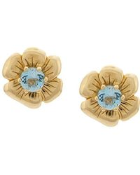 Aurelie Bidermann - Floral Earring - Lyst