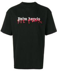 Palm Angels - Playboi Carti X Die Punk Tee Shirt - Lyst