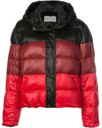 Proenza Schouler Pswl Hooded Puffer - Multicolor