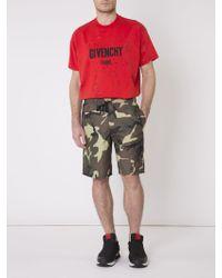 Givenchy | Camo Swim Shorts | Lyst