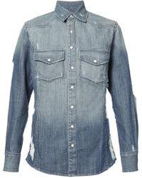 2654e22e60 Supreme. Denim Shirt Blue.  220. StockX · United Rivers - Hawriver Denim  Shirt - Lyst
