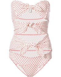 Lisa Marie Fernandez - Tripple Poppy Swimsuit - Lyst
