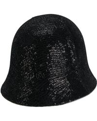 Maison Michel - Sequin Embellished Cloche Hat - Lyst