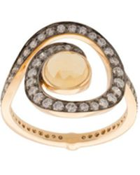 Noor Fares | Planet Spiral Ring | Lyst