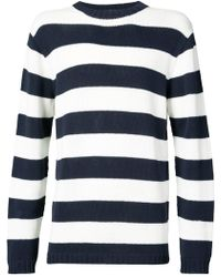 Junya Watanabe - Striped Fitted Sweater - Lyst
