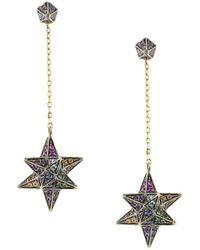 Noor Fares - Merkaba & Cone Dress Earring - Lyst
