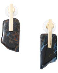 Kathleen Whitaker | Small Pietersite Earrings | Lyst