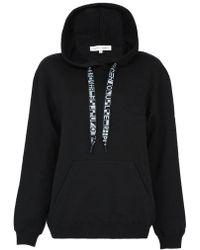 Proenza Schouler Pswl Hooded Sweatshirt - Black