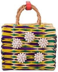Heimat Atlantica - Dori Mini Basket Bag - Lyst