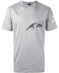 Lanvin - X Cédric Rivrain 'glare' T-shirt - Lyst