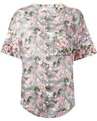 Julien David Floral Print Shirt - Multicolor