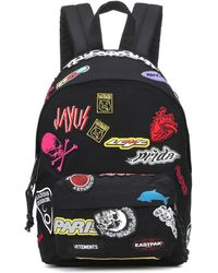 Vetements - Mini Embroidered Backpack - Lyst