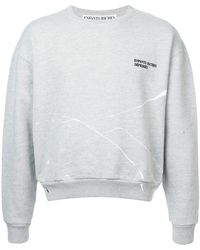 Enfants Riches Deprimes - Fleece Crew Neck Sweatshirt - Lyst