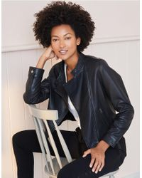 The White Company - Leather Jacket - Lyst