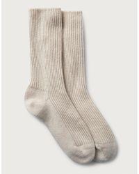The White Company Cashmere Bed Socks - Multicolour