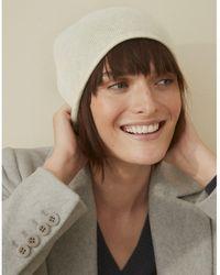 The White Company Cashmere Essential Hat - Multicolor