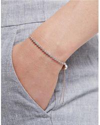 The White Company - Twin Star Pavé Bracelet - Lyst
