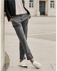 The White Company Slim Leg Pants - Gray