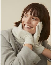The White Company Cashmere Essential Gloves - Multicolor