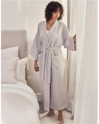 05b508c2aa The White Company - Lightweight Waffle Robe - Lyst