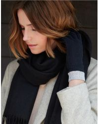 The White Company - Cashmere Gloves - Lyst