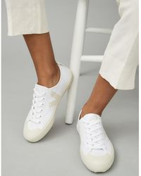 The White Company Veja Nova Canvas Sneakers - White