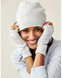 The White Company - Cashmere Classic Beanie - Lyst