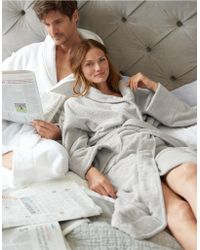 The White Company | Unisex Cotton Classic Robe | Lyst