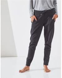 The White Company | Zip Detail Jersey Joggers | Lyst