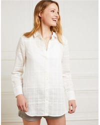 The White Company - Lightweight Checked Shirt - Lyst