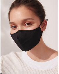 The White Company Sport Face Mask - Black