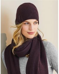 The White Company - Cashmere Beanie - Lyst