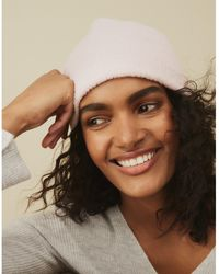 The White Company Boucle Hat With Wool - Pink