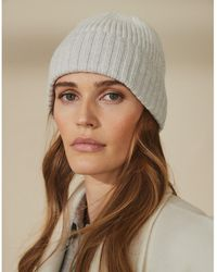 The White Company Wool-cotton Ombré Hat - Gray