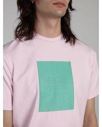 ANTON BELINSKIY Square Graphic T-shirt - Multicolor