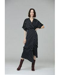 VEDA - Tuscan Silk Wrap Dress - Lyst