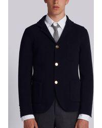 Thom Browne - Rwb Intarsia Milano Stitch Sport Coat - Lyst