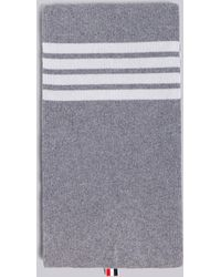 Thom Browne - Ribbed Cashmere Scarf - Lyst