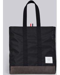 Thom Browne Unstructured Tote Bag - Black