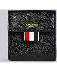 Thom Browne - Clasped Leather Large Coin Case - Lyst